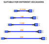 2019 NEW Fast Charging USB Type C Cable, USB C Cable 10FT 6FT 3FT Nylon Braided Power Cable for Samsung Galaxy S9 Note 8