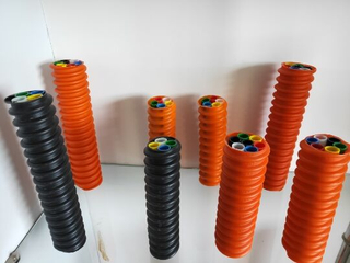 HDPE Microduct Direct Installed Micro Tube Bundle for Air Blown Fiber Optic Cable