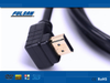 Hot Selling 2160P high resolution black HDMI cable 4K 60HZ at 18gbps with high speed Ethernet for HDTV PS3/4 computer projector