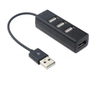 Mini 4 Port USB Hub 2.0 Divider