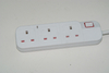 New Power Strip Extension Universal Surge 5 Way Socket