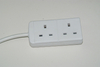 6 Outlet Surge Protector Device Multi Round Socket Plugs