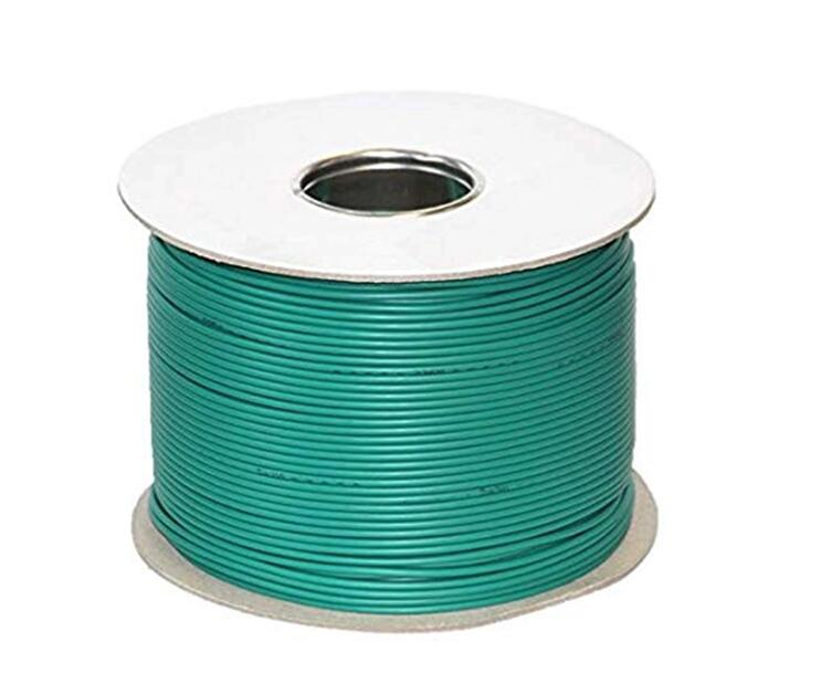 Metal Mesh Braiding Safety Cable PE Insulation Single Core Boundary Wire for Husqvarna/Gardena Robotic Lawn Mower Wire