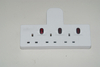Surge protected power socket 6 way