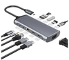 Multiport Adapter 3.1 Type C Hub Docking Station USB C Hub 10 in 1 Adapter USB C Hub