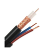 Factory OEM RG59 cctv cable with Power Supply Standard 200m rg59 coaxial cable for cctv security camera