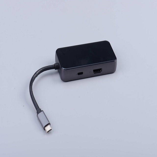 3in1 TYPE C HUB To HDMI+USB 3.0+PD Charging With Good Quality