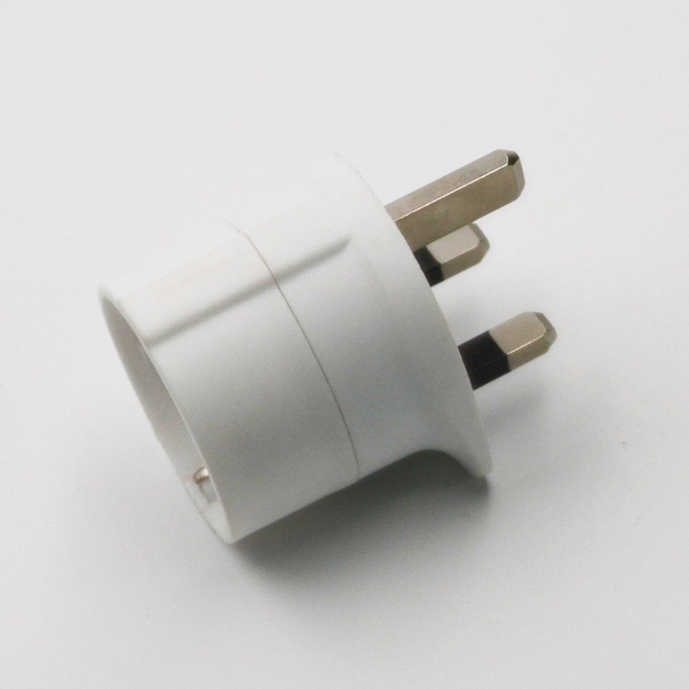 Europe To UK Plug Adapter Travel Plug Adapter,practical German Power Adaptor Plug