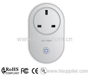 2014 New Remote Control WIFI Smart Socket For UK Type