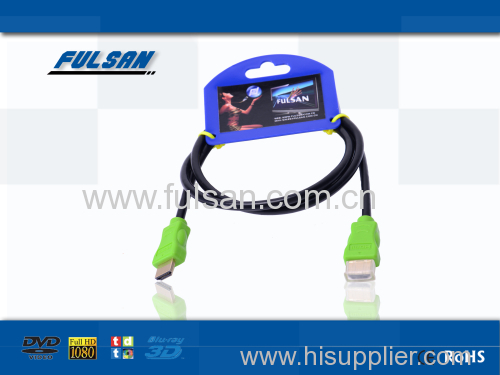 3D HDMI cable in Double color