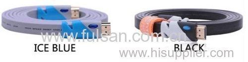 8M Flat HDMI Cable Male to Male with Ethernet for HDTV &Plasma TVs