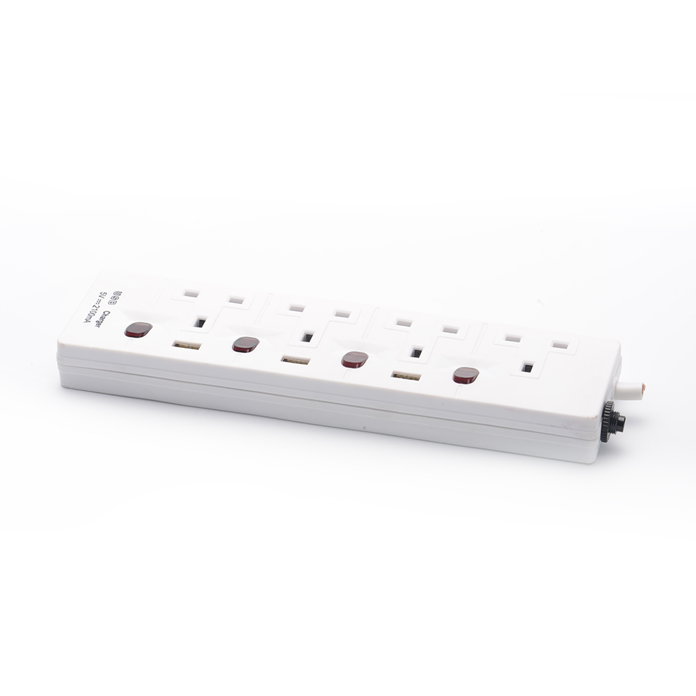 Extension sockets electrical 3 4 5 6 gang way outlet
