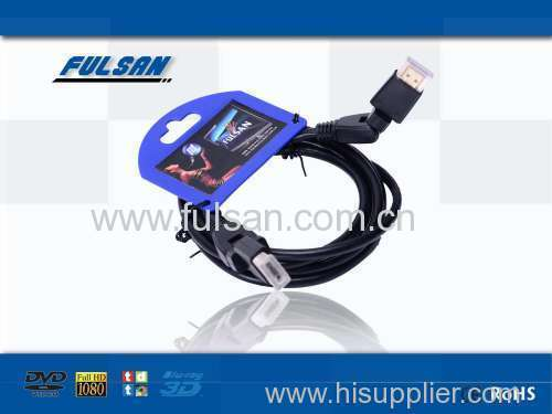 High speed dual molded hdmi cable 1.4v