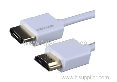 32AWG hdmi cable for computer 1080p and 1.4 V 3D with factory price