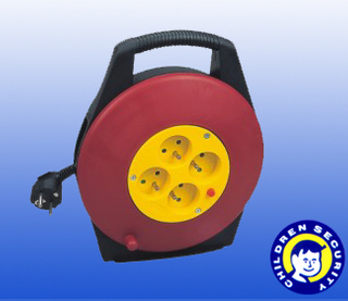 Cable reel power cables