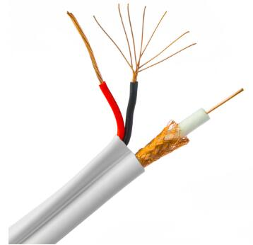 Free Samples Hd Tv Cable Dual Coaxial Cable 540 With 2C Power Cable Optional