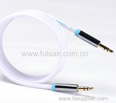 High Quality Metal Shell 3.5mm stereo cable