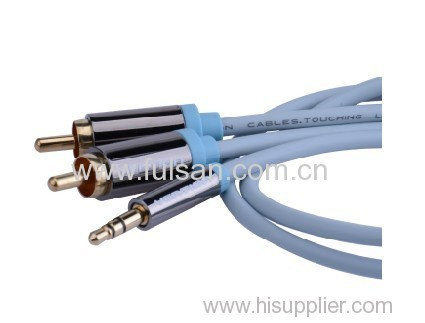 3.5mm Stereo to 2RCA Audio cable