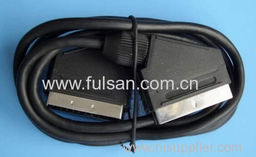 Scart to 3rca Cable 1m 1.5m 2m 3m