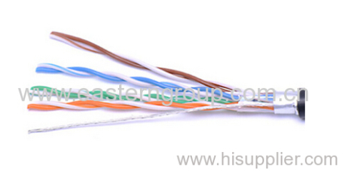 Outdoor UTP Cat5e Network Cable with Good Warterproof Jacket