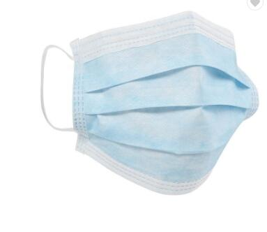 3Ply Earloop Antibacterial Face Mouth Mask China Suppliers CE FDA Disposable Antivirus Face Mask