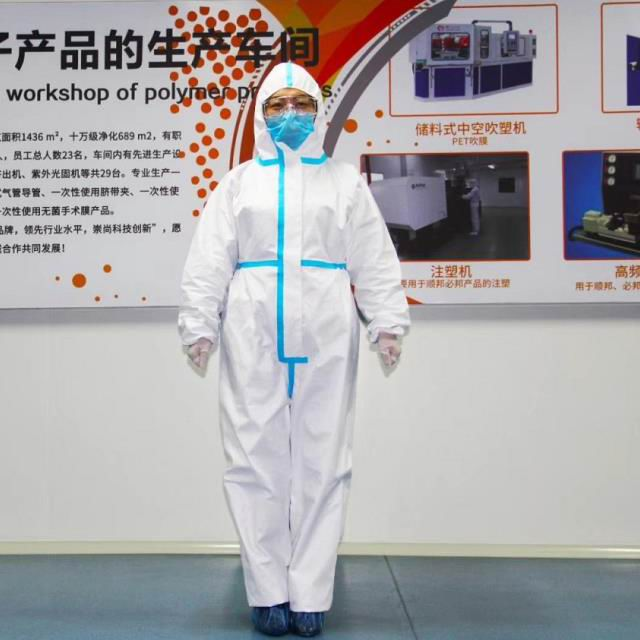 CE Disposable Protective Clothing