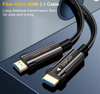 CableCreation Fiber Optic HDMI 2.1V AOC Cable, for Laptop, Blu-ray Player,PS4,Xbox,HDTV,Projector 3m