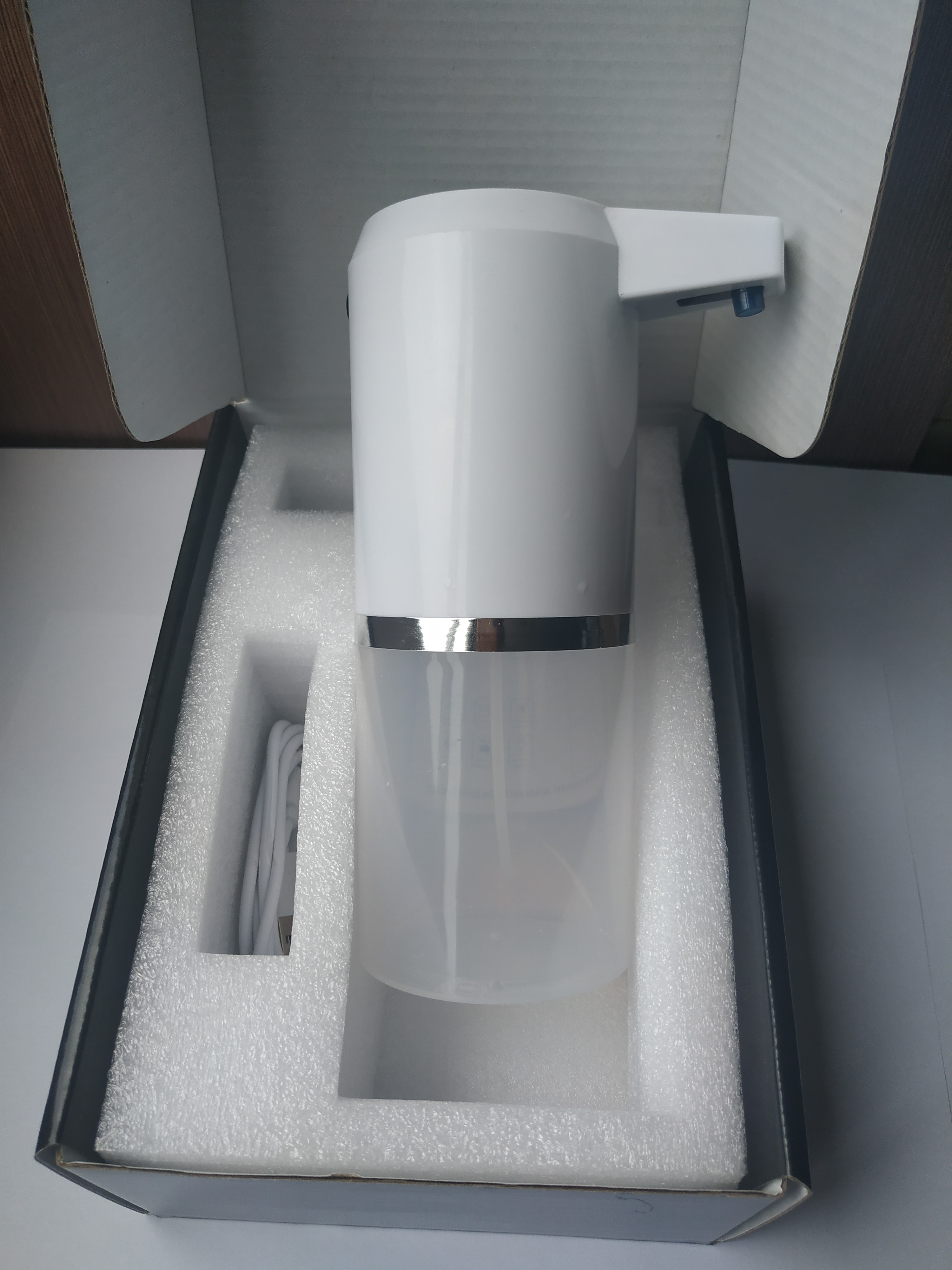 Spray Foam Gel Sensor Soap Dispenser