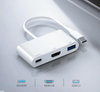 High Quality 3 in 1 USB Type C HUB To 1080P 4K HDMI+USB 3 + PD Charging in 1 USB C HUB Converter Adapter Cable